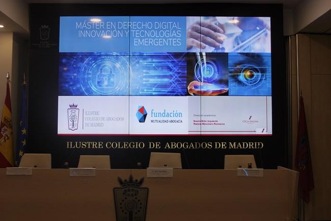 Inaugurado el Máster en Derecho Digital, Innovación y Tecnologías Emergentes del ICAM