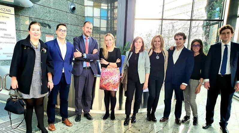 Los alumnos del Inaugurado el Máster en Derecho Digital, Innovación y Tecnologías Emergentes visitan la sede de Ilunion