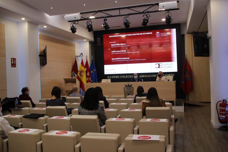 Inauguración del Máster en Derecho Digital, Innovación y Tecnologías Emergentes